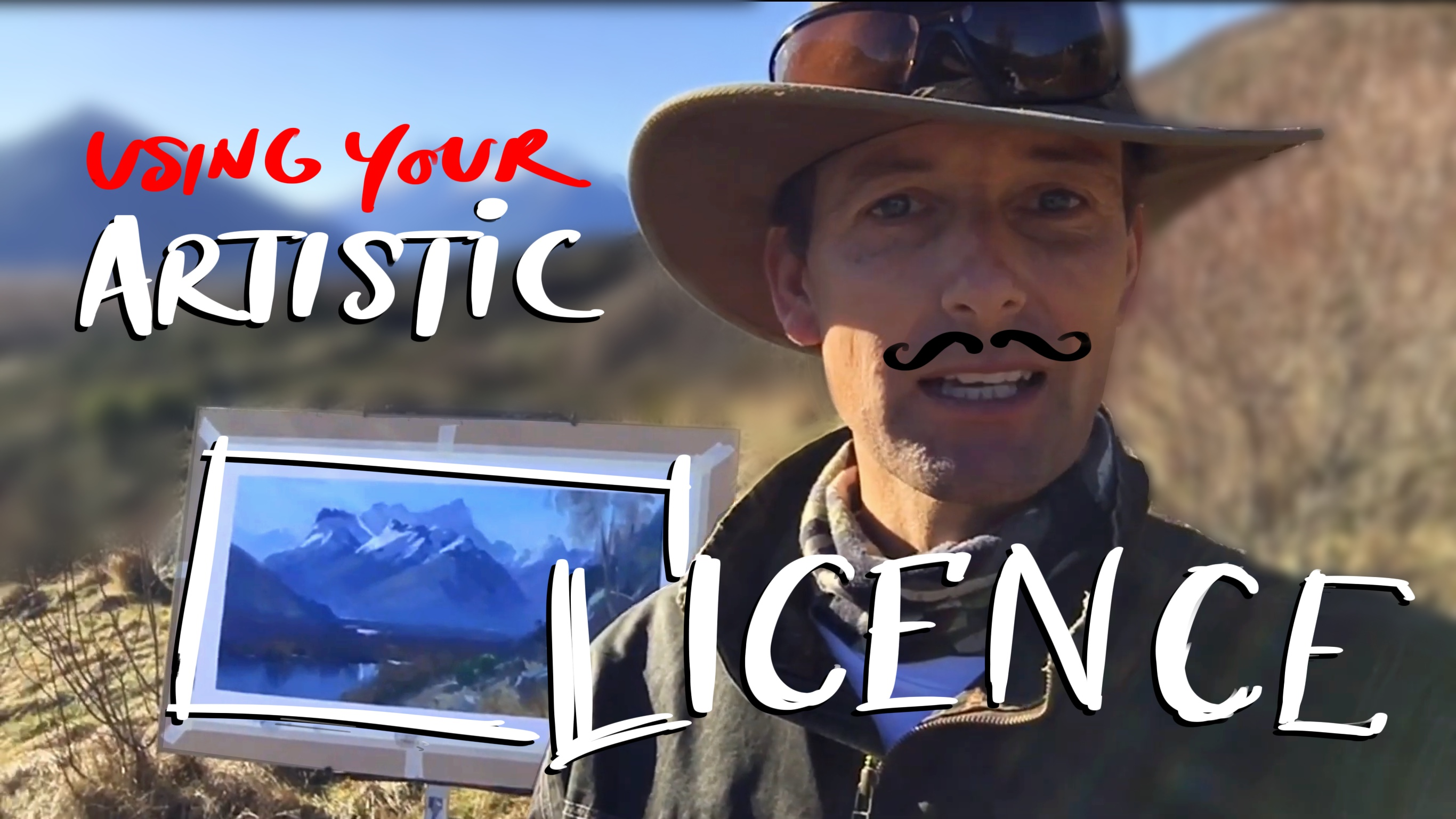 Using your artistic licence logo