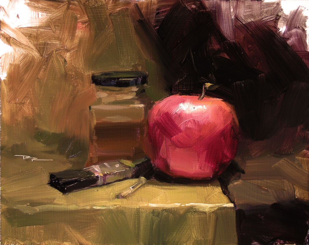 How to light a still life painting