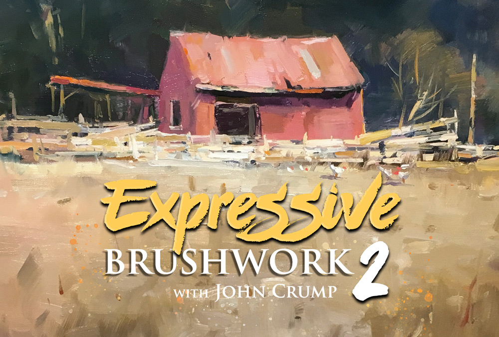Expressive Brushwork 2 with John Crump - Student Critiques
