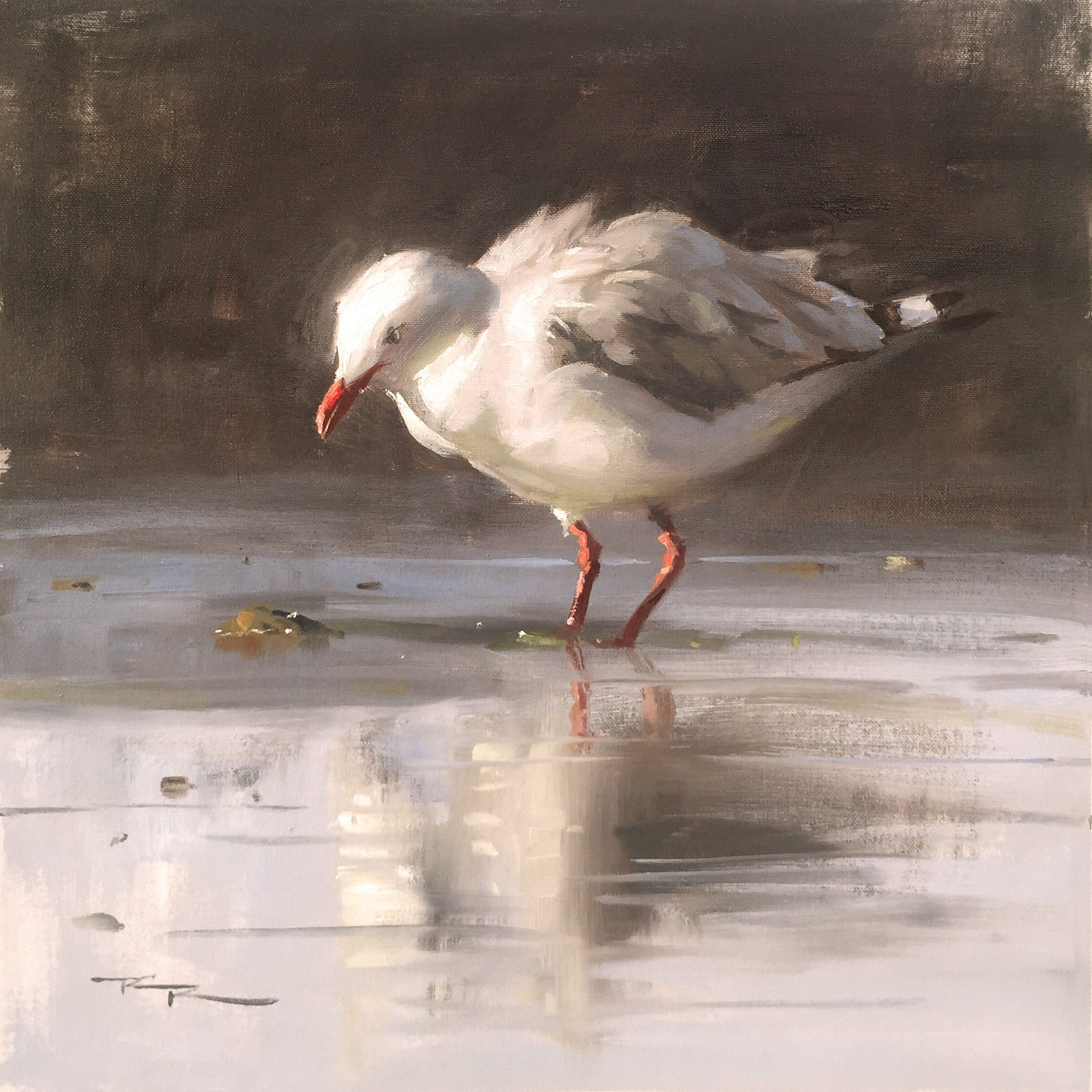 Painting Critiques - Jonathan Seagull