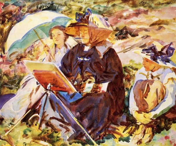 John Singer Sargent, Online Painting Lessons