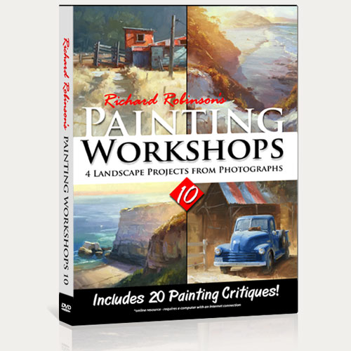 Painting Workshops 10 DVD