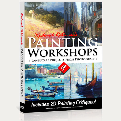 Painting Workshops 9 DVD