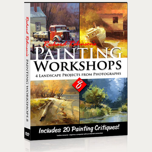 Painting Workshops 8 DVD
