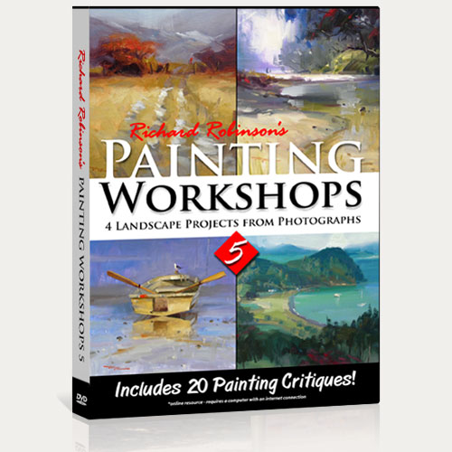 Painting Workshops 5 DVD
