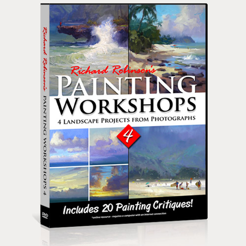 Painting Workshops 4 DVD