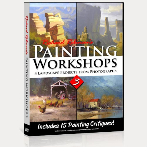 Painting Workshops 3 DVD