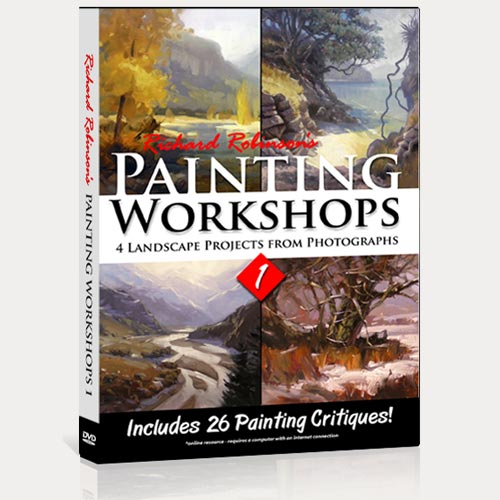 Painting Workshops 1 DVD