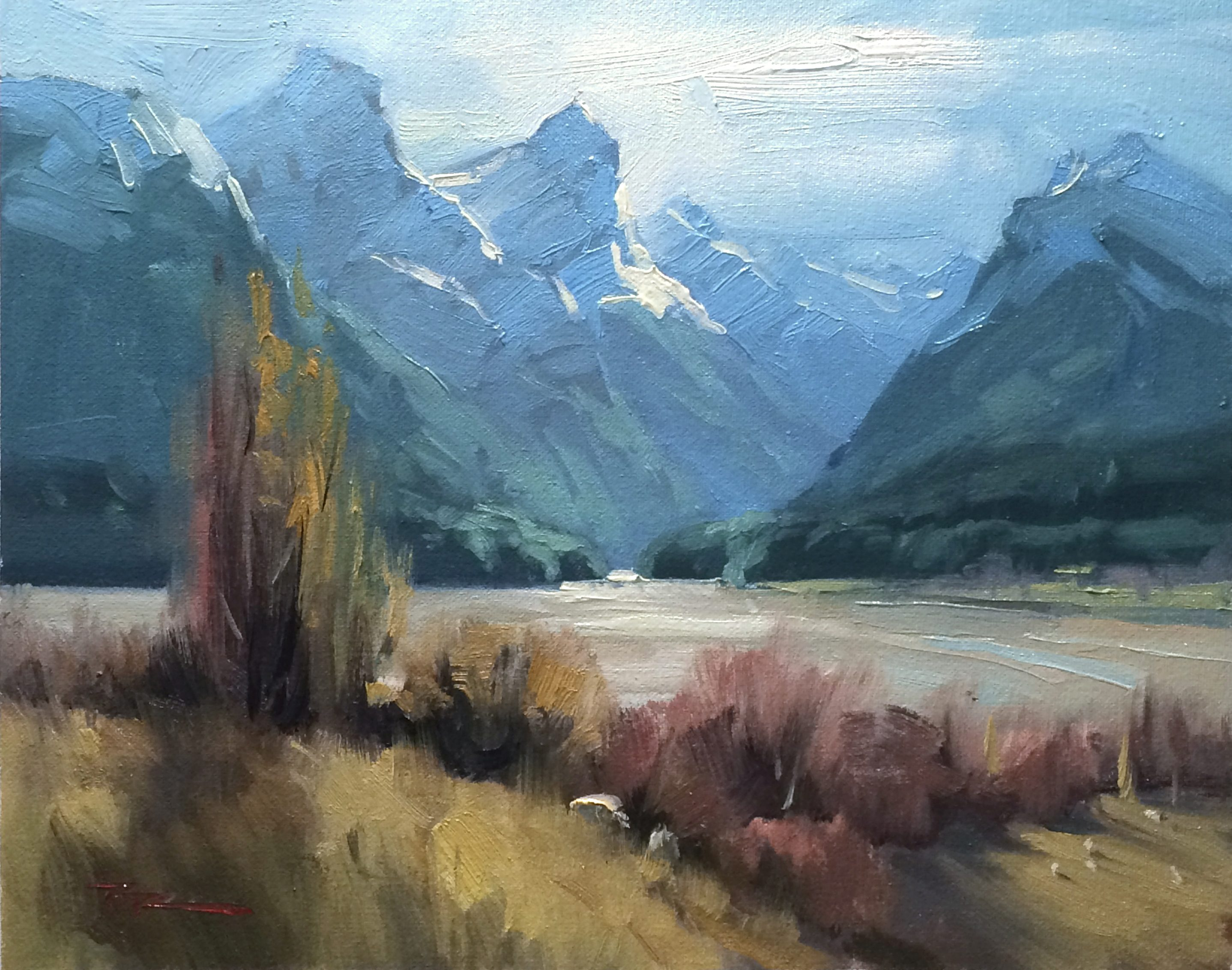 Paradise, Online Painting Lessons