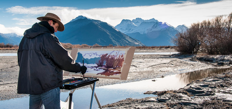Richard_Painting_Glenorchy_cropped