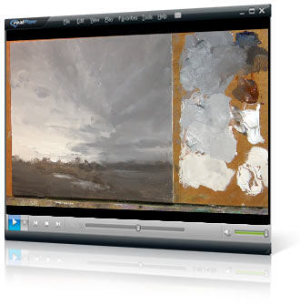 Mastering Sunsets video painting course project 2