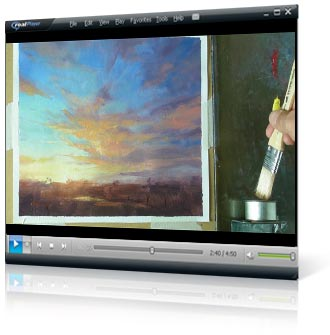 Mastering Sunsets video painting course project 4