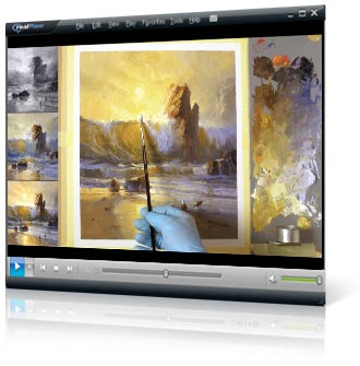 Mastering Sunsets video painting course project 6