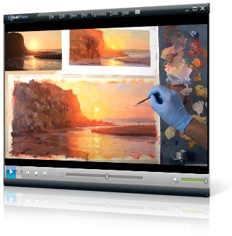 Mastering Sunsets video painting course project 7