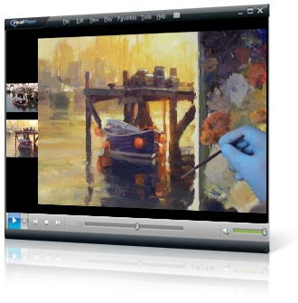 Mastering Sunsets video painting course project 8